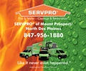 SERVPRO of Mount Prospect / North Des Plaines