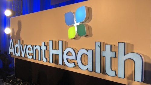 AdventHealth Sign
