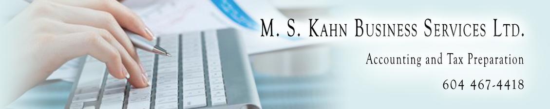 M.S. Kahn Business Services Ltd.