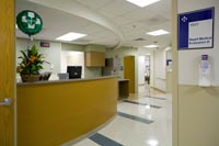 Providence Emergency Room - Fast Track area.