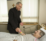 The Providence Spiritual Care department reaches out to patients in many ways.