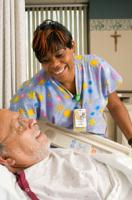 Providence Medical Surgical Nurses care for patients wtih compassion and heart.