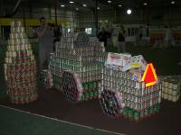 Canstruction Madison 2011 - Harvest for Hunger