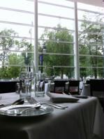 Enjoy our beautiful view of the Capitol as you dine in elegance.