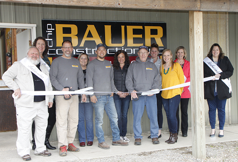 Ribbon cutting with Chamber Ambassadors