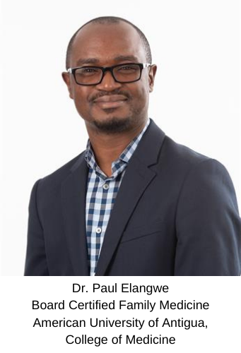 Dr. Paul Elangwe - Board Certified Family Medicine