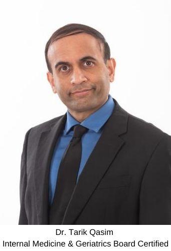 Dr. Tarik Qasim - Internal Medicine & Geriatrics Board Certified