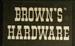 Brown's Hardware