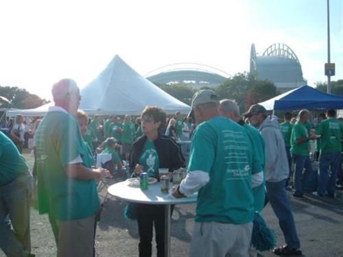 Turn Miller Park Teal - 2010