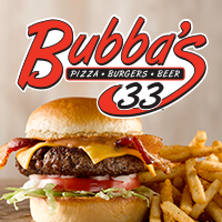 Bubba's 33 Pizza Burgers & Beer