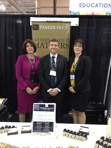 Exhibiting at NJSBA Workshop 2014