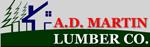 A.D Martin Lumber Co.