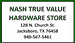 Nash True Value Hardware Store