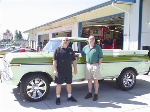 Joel and Nathan Baxter, Owners