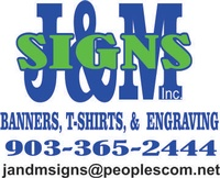 J & M Signs and Screen Printings