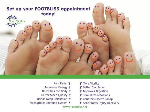 Make your reflexology appointment today! And remember: you can book online!
