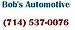 Bob's Automotive Enterprises