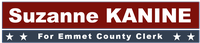 Suzanne Kanine for Emmet County Clerk