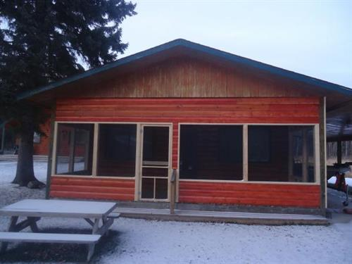 New screened porches on two cabins for 2012!