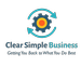 Clear Simple Business