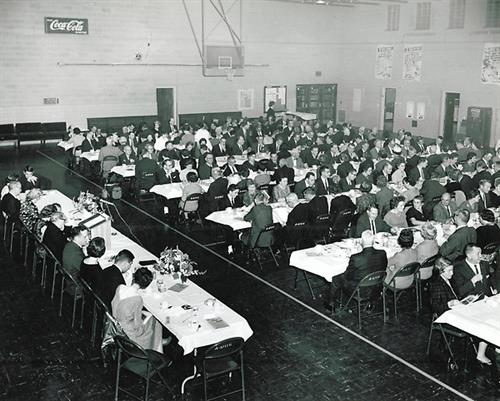 1960 Annual Business Dinner, Bedford Armory