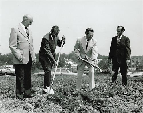 Groundbreaking for BACC Main Office