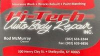 Hi-Tech Auto Body Repair, Inc.