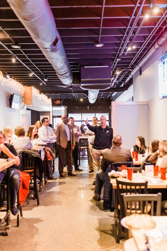 The Chamber's new informal networking event, Forge.