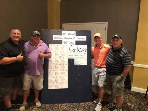 33rd Annual Golf Outing Winning Foursome