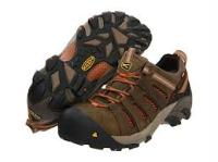 ''Flint Low'' with Keen comfort and safety toe.