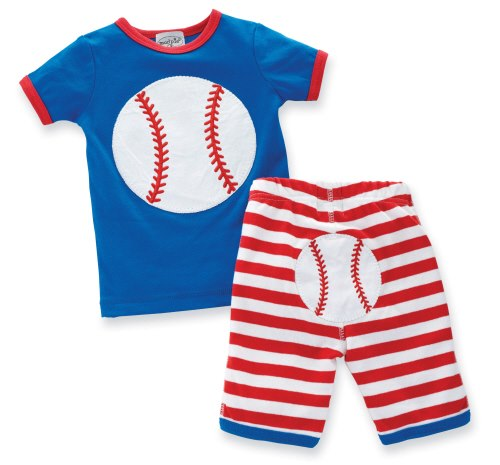 Mud Pie, 6-9 months boys baseball outfit. $27.99