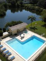 Pool and ''Sweetheart Lake''