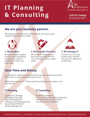IT Planning and Consulting