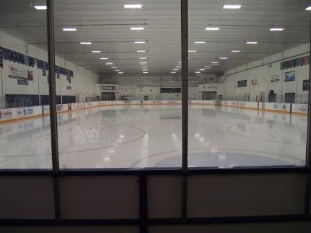One of 3 professional ice rinks