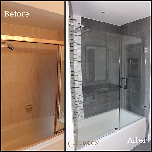 Bathroom renovation project - Hill dr - North Vancouver