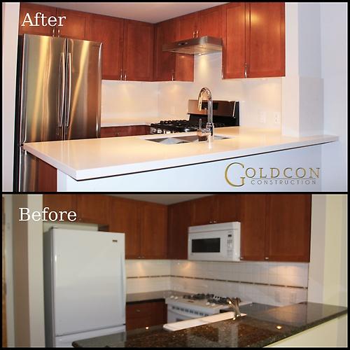 Kitchen renovation - Vancouver condo