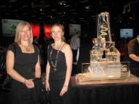 Jennifer Crone & Shannon Stroeder at the 2011 Abex Awards - Nov 19 2011