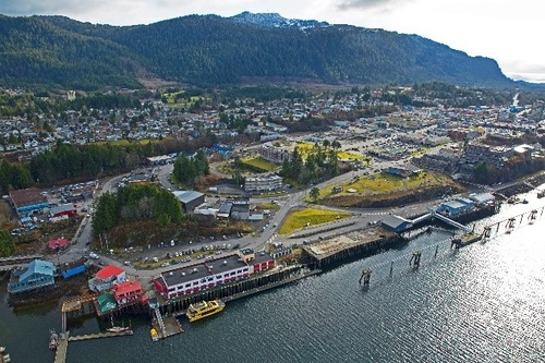 Atlin Terminal and the Cruise Dock
