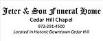 Jeter & Son Funeral Home, Cedar Hill Chapel