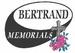 Bertrand Memorials