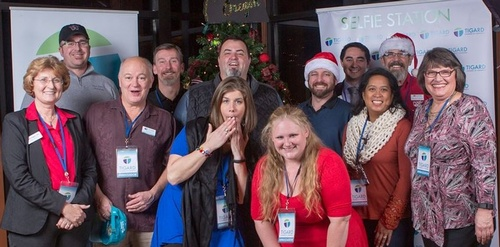 Tigard Chamber Ambassadors at Holiday Happy Hour