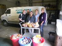 YAP of Sweetwater donates to the Food Bank.