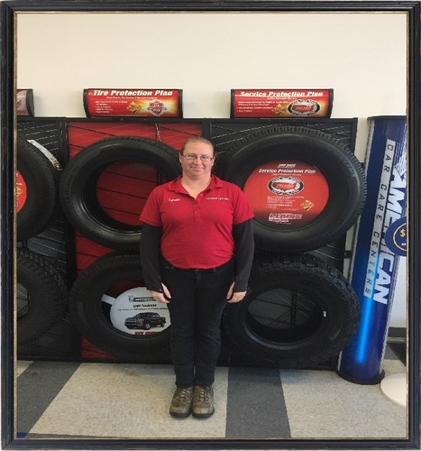 There is also Lynette too adding in her 8 years of knowledge. This hard working mother of three is always up for a challenge and loves learning new things. She is one of the many outstanding people the make up the Rock Springs crew which include ASE certified mechanics and TIA trained tire and lube technicians.