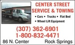 Center Street Towing