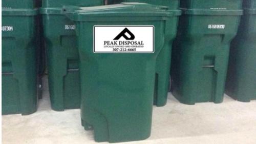 Stadard 96gal curbside residetial trash can