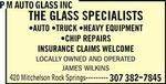 P.M. Auto Glass
