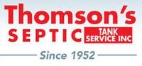 Thomson's Septic Tank Service Inc.