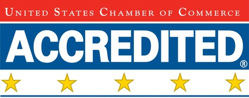 5 Star Accredited Chamber by the US Chamber of Commerce.  This places Urbandale in the top 1% of Chambers of Commerce in the US