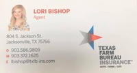Texas Farm Bureau Agent -  Lori Bishop