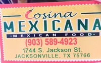 Cosina Mexicana Mexican Food